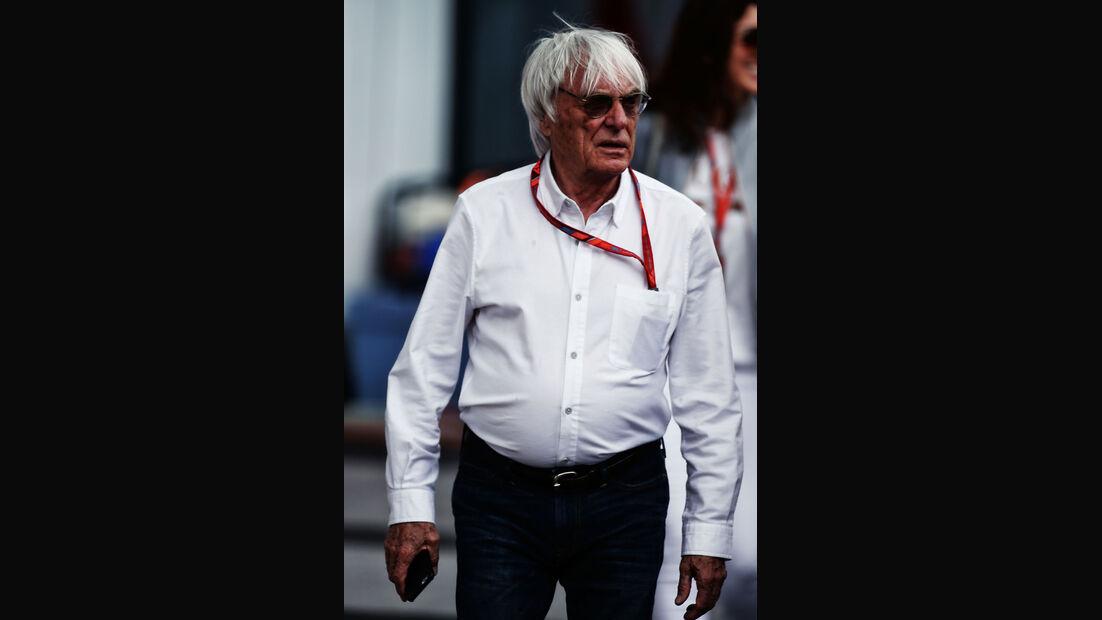 Bernie Ecclestone - GP Österreich - Spielberg - Formel 1 - Freitag - 7.7.2017