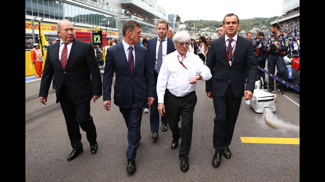 Bernie Ecclestone - GP Russland 2015 - Sochi - Rennen