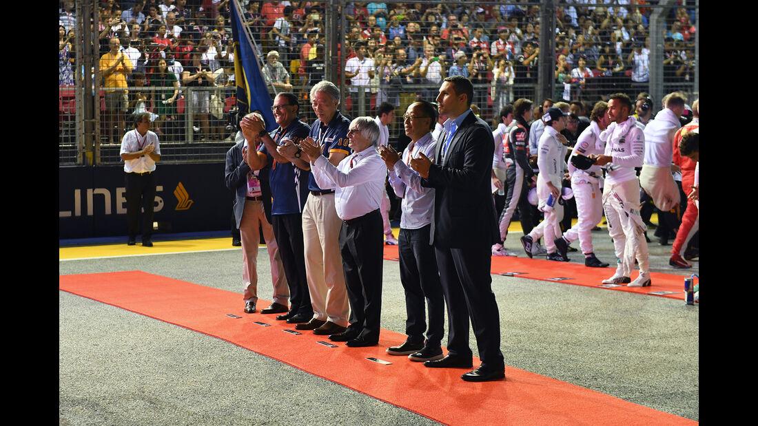 Bernie Ecclestone - GP Singapur 2016
