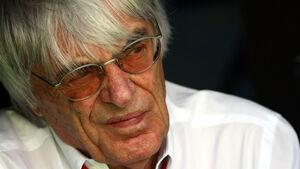 Bernie Ecclestone GP Spanien 2011