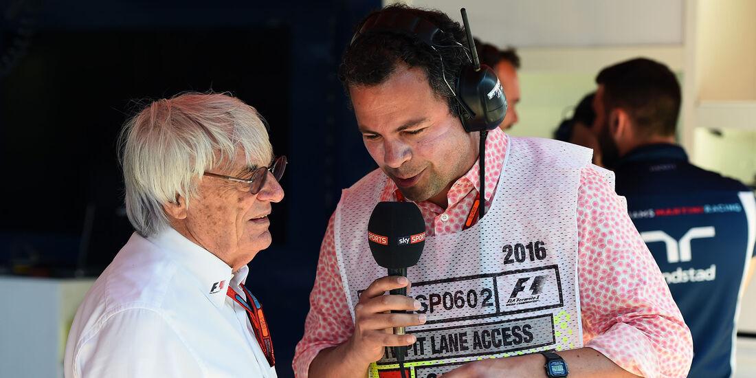 Bernie Ecclestone - GP Spanien 2016 - Qualifying - Samstag - 14.5.2016