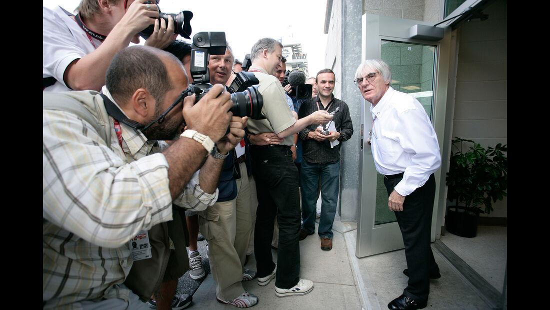 Bernie Ecclestone - GP USA 2005