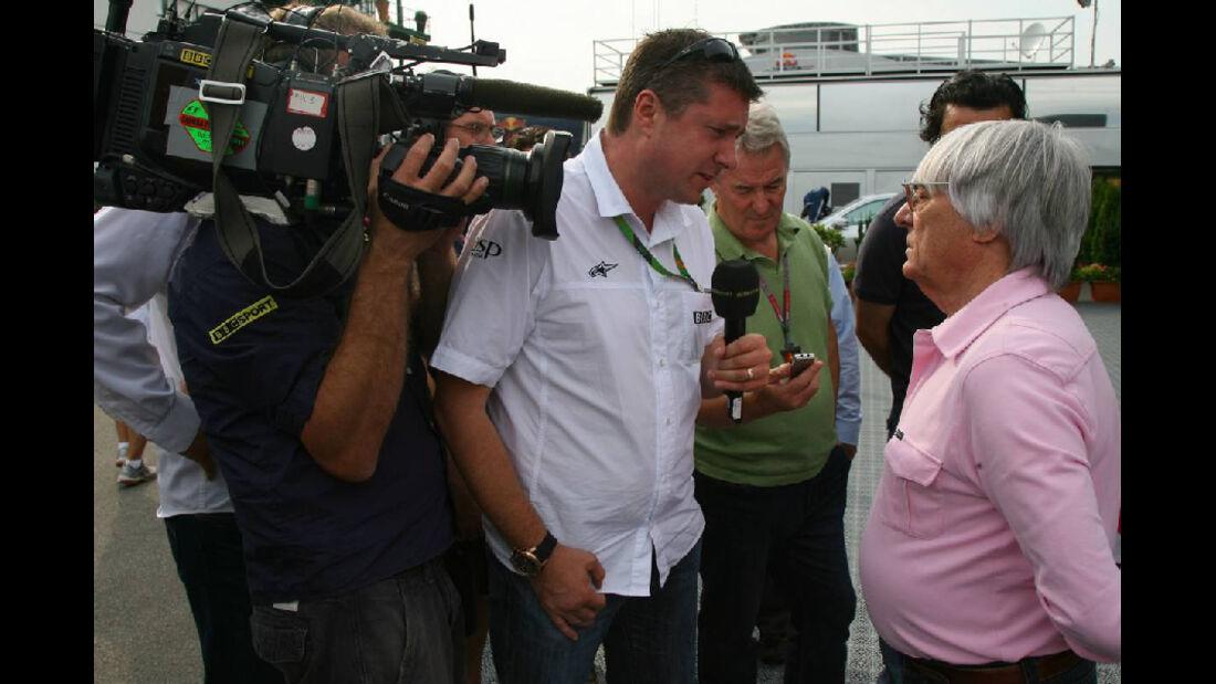 Bernie Ecclestone - GP Ungarn - Formel 1 - 29.7.2011