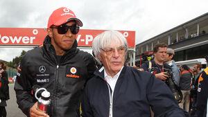 Bernie Ecclestone Hamilton 2011