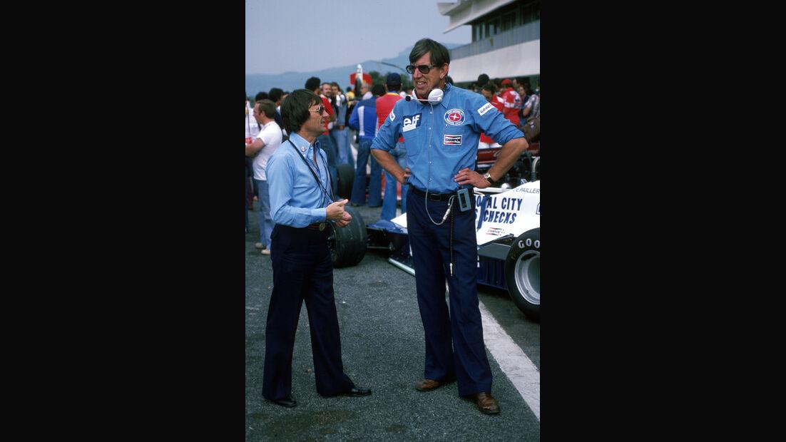 Bernie Ecclestone - Ken Tyrrell - GP Frankreich 1978 - Paul Ricard