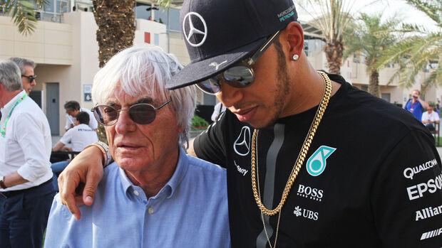 Bernie Ecclestone & Lewis Hamilton - Formel 1