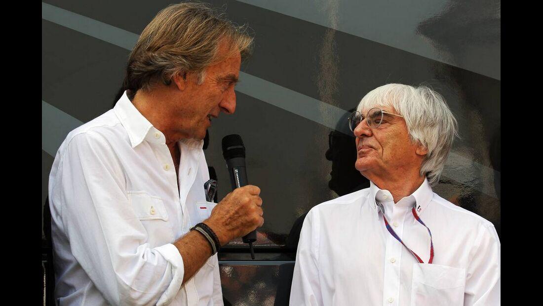 Bernie Ecclestone Luca di Montezemolo - Formel 1 - GP Italien - 08. September 2012
