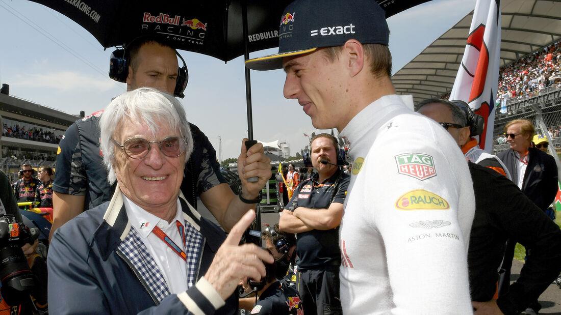 Bernie Ecclestone & Max Verstappen - Formel 1