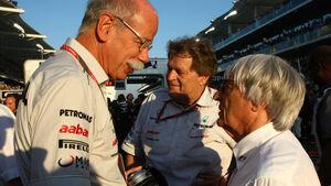Bernie Ecclestone Mercedes 2012