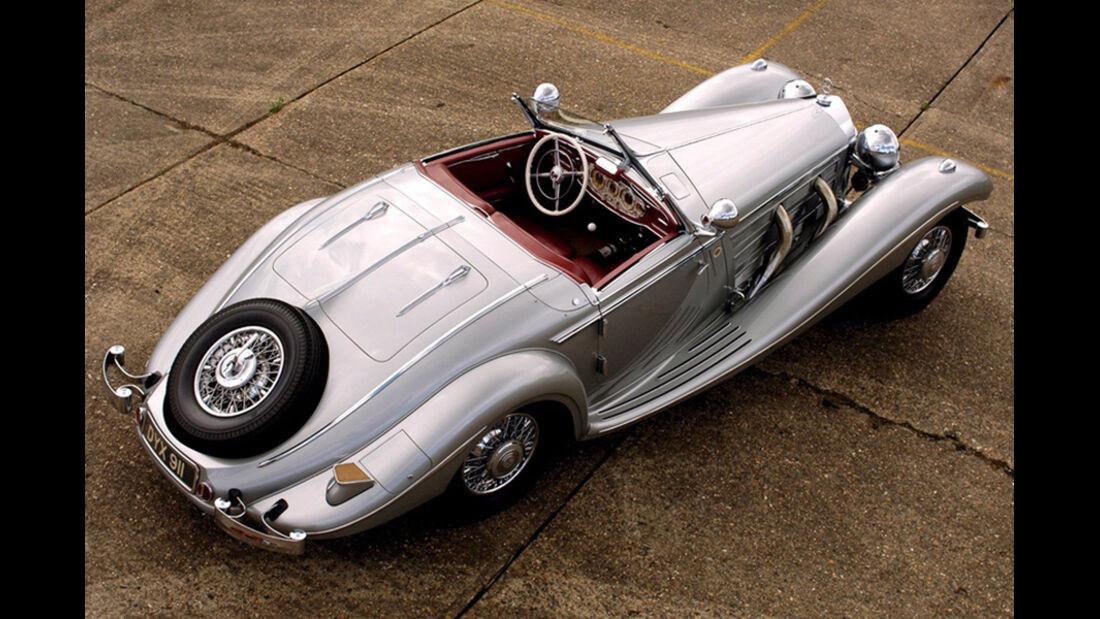 Bernie Ecclestone Mercedes 540