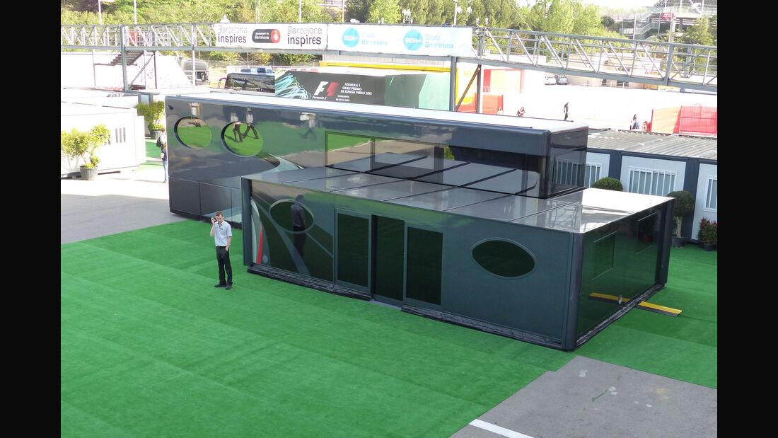 Bernie Ecclestone - Motorhome - GP Spanien 2015 - Barcelona