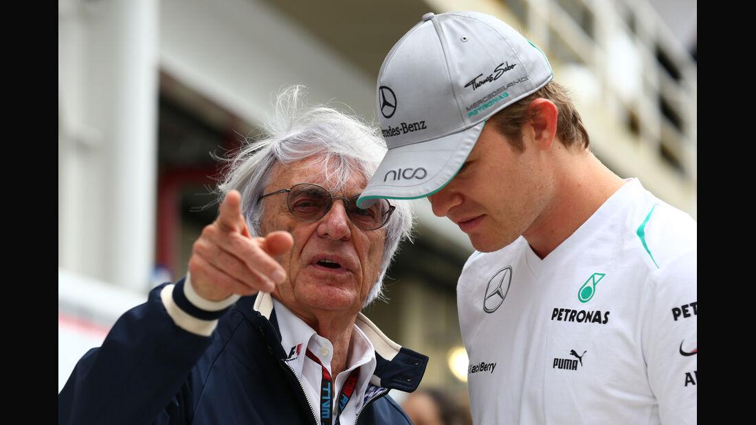 Bernie Ecclestone & Nico Rosberg - Formel 1