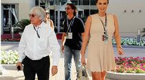 Bernie Ecclestone - Tamara Ecclestone - Formel 1 - GP Abu Dhabi - 03. November 2013