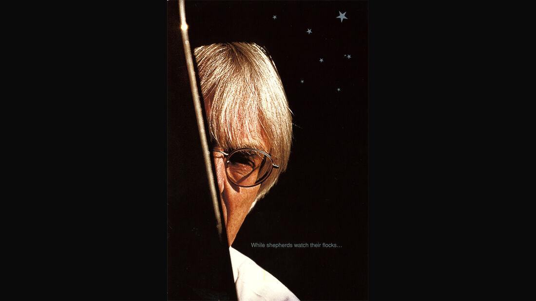 Bernie Ecclestones Weihnachtskarten