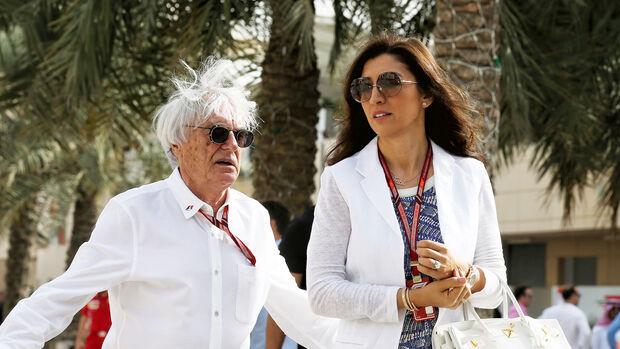 Bernie & Fabiana Ecclestone