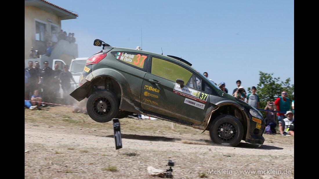 Bertelli - Rallye Sardinien 2014