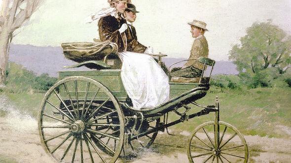 Bertha Benz Patent Motorwagen 1888