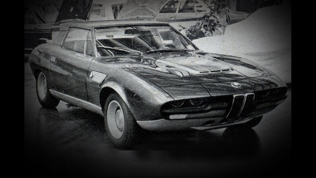 Bertone, BMW, Spicup, IAA 1969