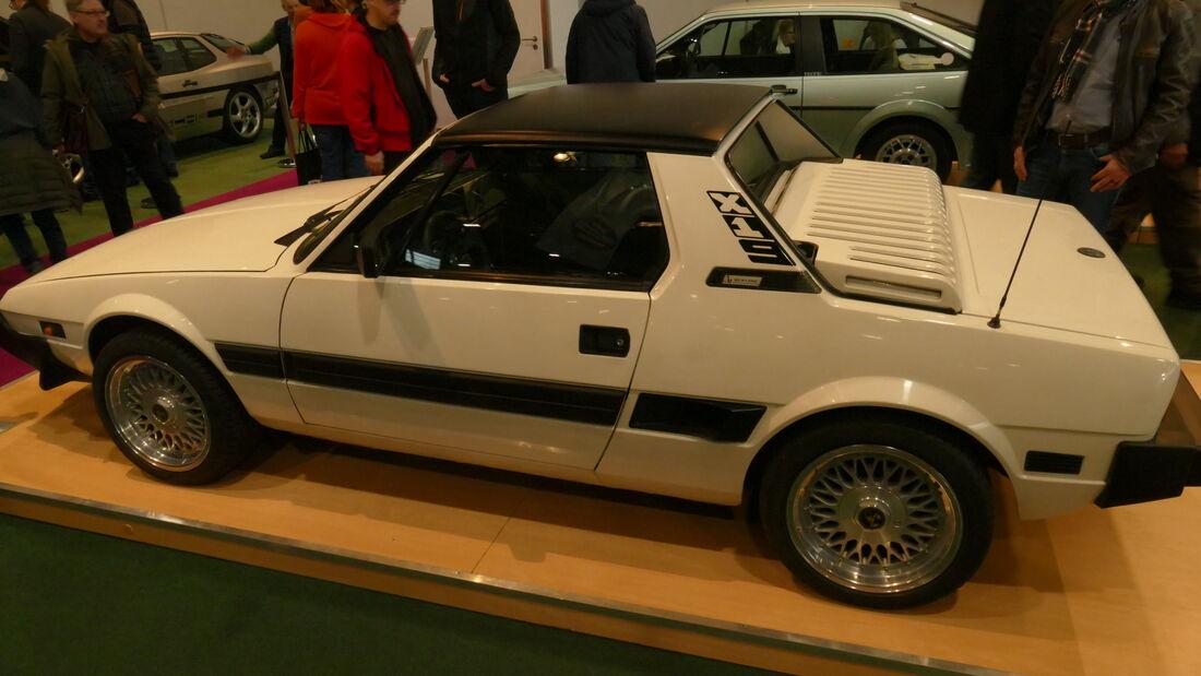 Bertone X1/9 auf der Bremen Classic Motorshow 2020