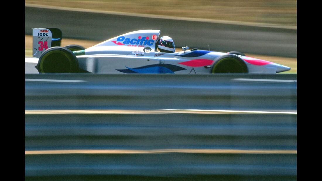 Bertrand Gachot - Pacific PR01 - Formel 1 - 1994