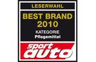 Best Brand 2010 Pflegemittel Logo