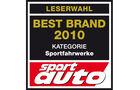 Best Brand 2010 Sportfahrwerke Logo