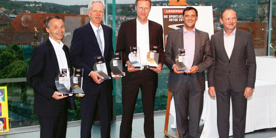Best Brands, August Achleitner, Hans-Jürgen Wöhler, Andreas Preuninger, Dr. Michael Steiner