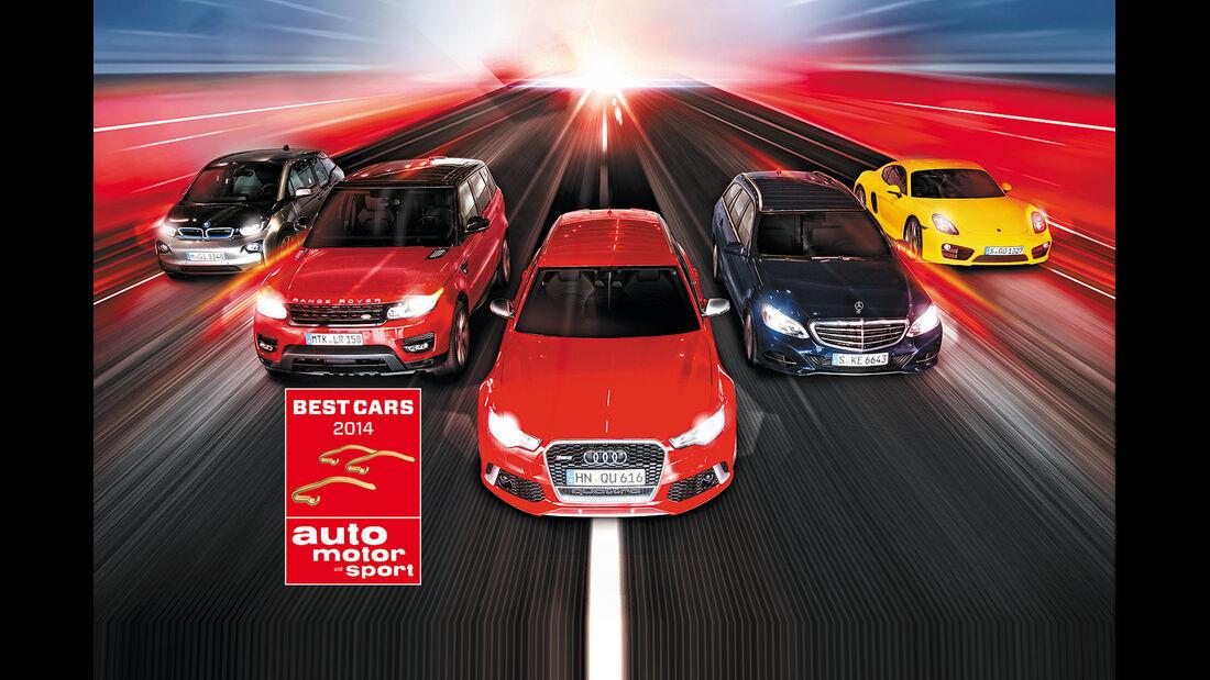 Best Cars 2014 Aufmacher