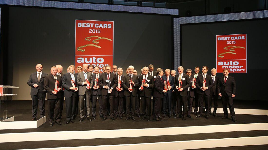 Best Cars 2015 Gala