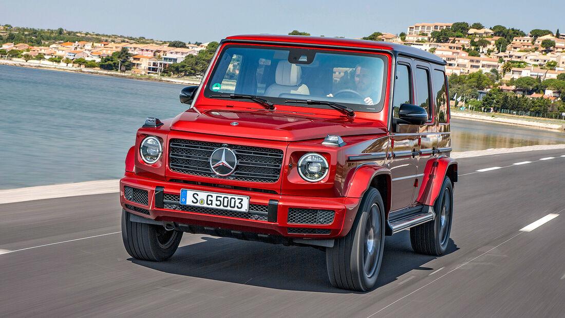 Best Cars 2021, Mercedes G-Klasse