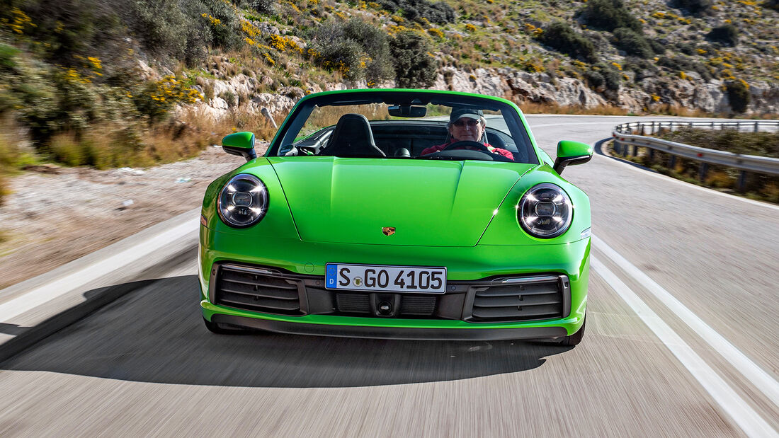 Best Cars 2021, Porsche 911 Cabrio/Targa