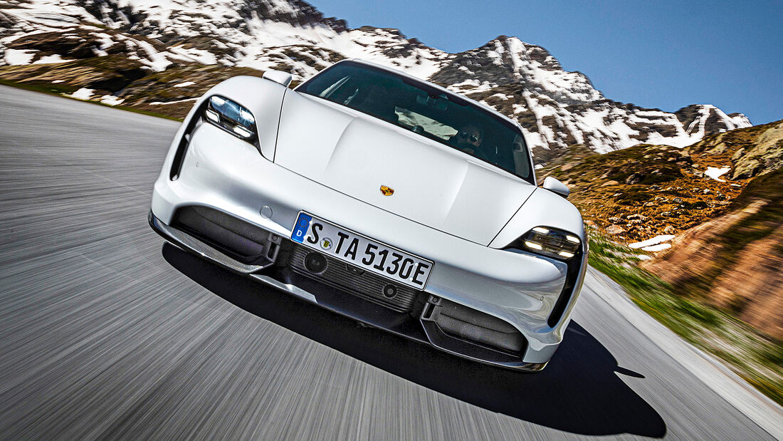 Best Cars 2021, Porsche Taycan