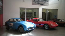 Besuch bei Ferrari Classiche, 08/2013, mkl