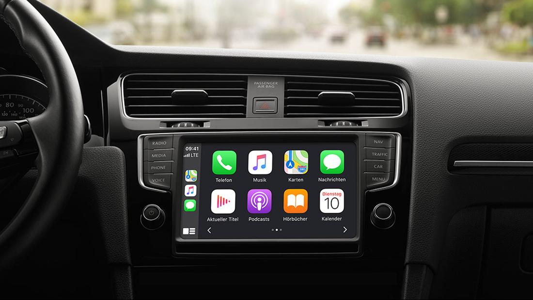 Betriebssysteme im Auto Apple CarPlay