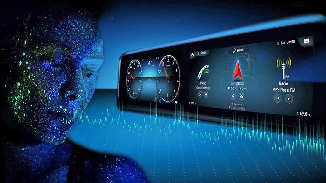 Betriebssysteme im Auto Mercedes MBUX