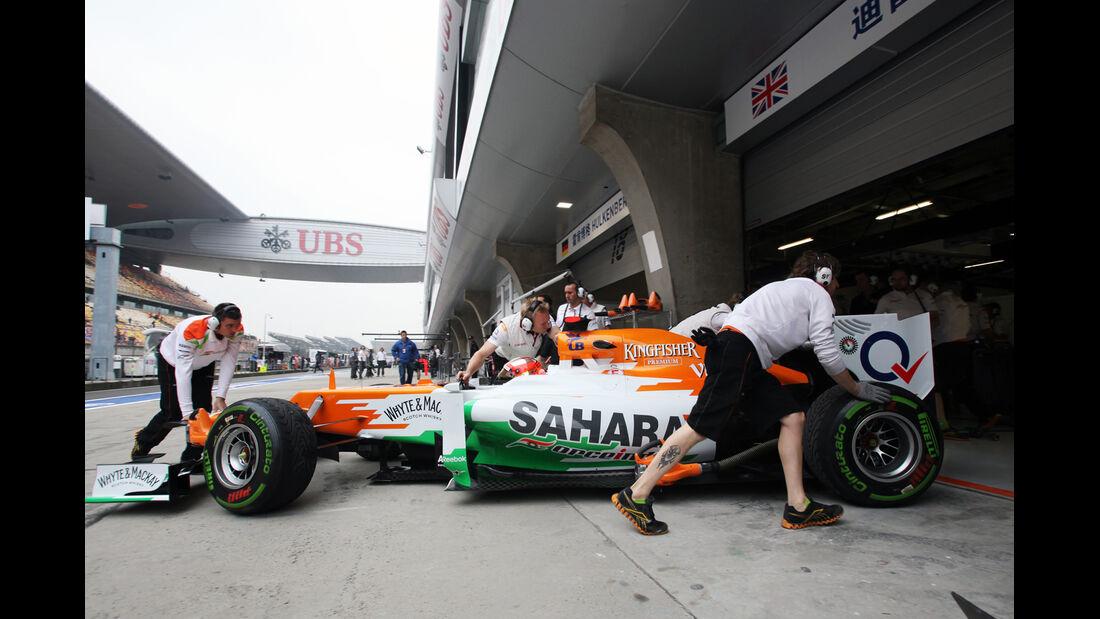 Bianchi - Formel 1 - GP China - 13. April 2012