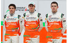 Bianchi, Hülkenberg & Di Resta - Force India 2012