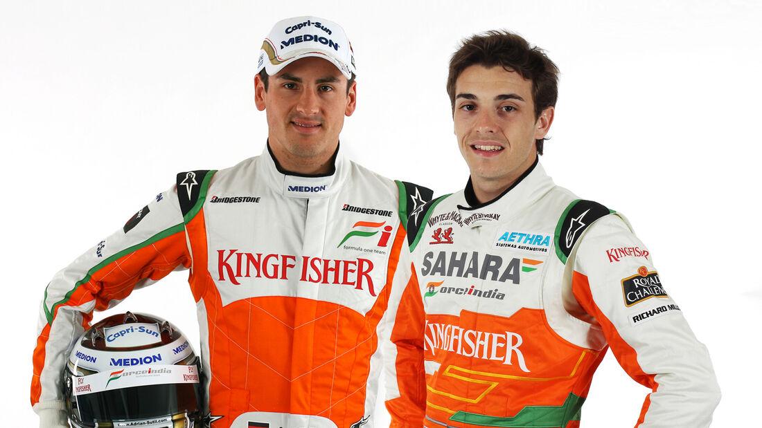 Bianchi Sutil Force India