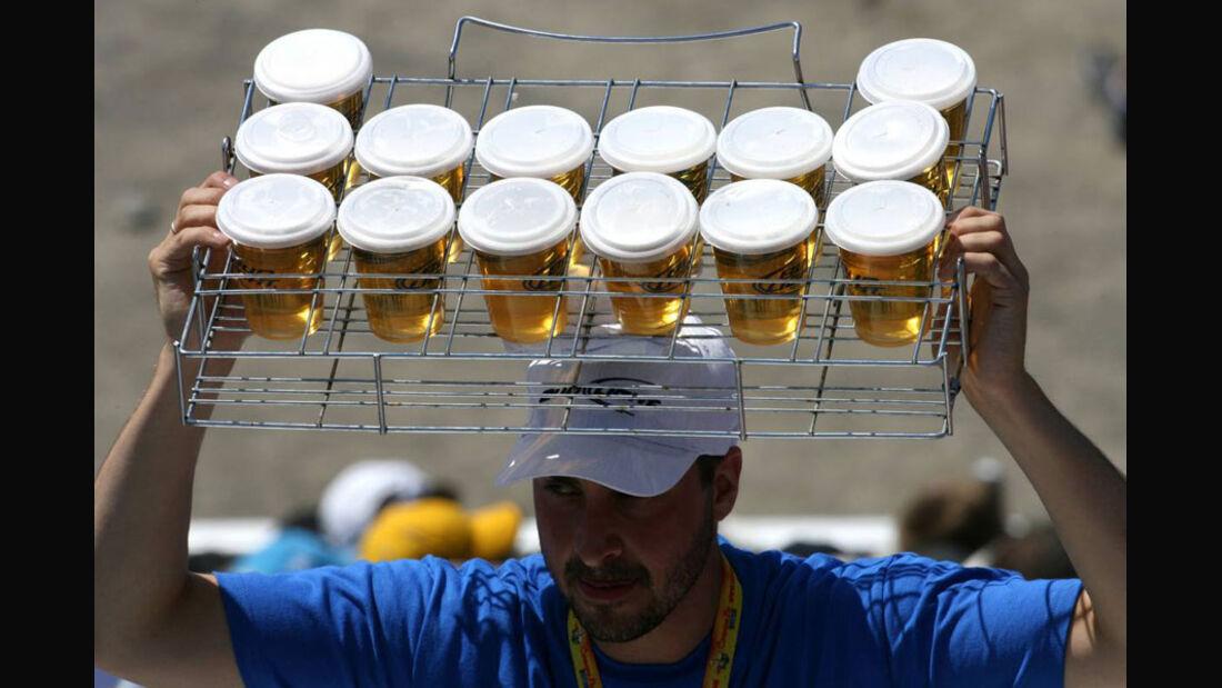 Bier-Verkäufer GP Kanada 2011