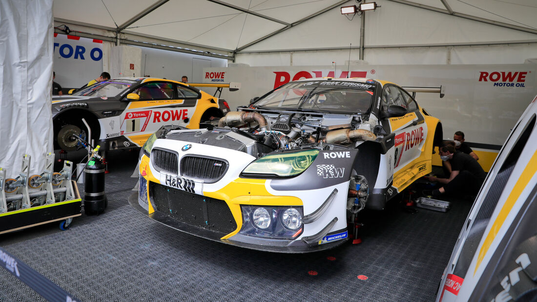 Bilder aus dem Fahrerlager - 24h-Rennen N�rburgring 2021 - 03. - 06. Juni