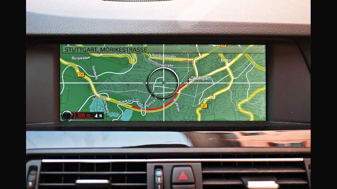 Bildschirmanzeige, BMW RTTI
