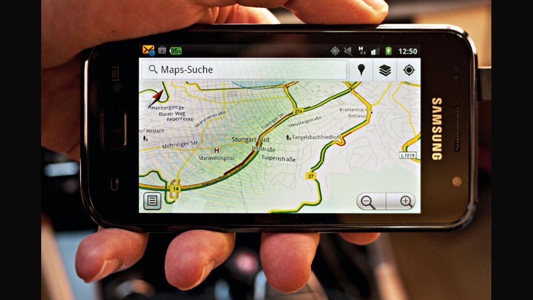 Bildschirmanzeige, Google Traffic