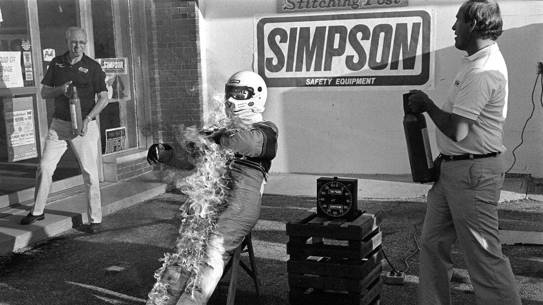Bill Simpson Indianapolis (1986)
