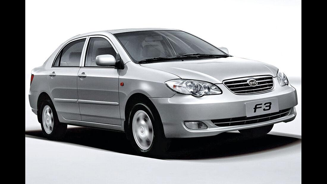 Billig-Autos, BYD F3