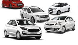 Billig Autos unter 10.000 Euro Aufmacher Collage