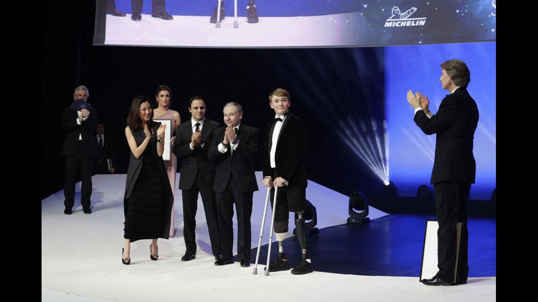 Billy Monger - FIA Preisverleihung - Versailles