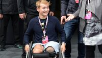 Billy Monger - Formel 1 - GP England - 14. Juli 2017