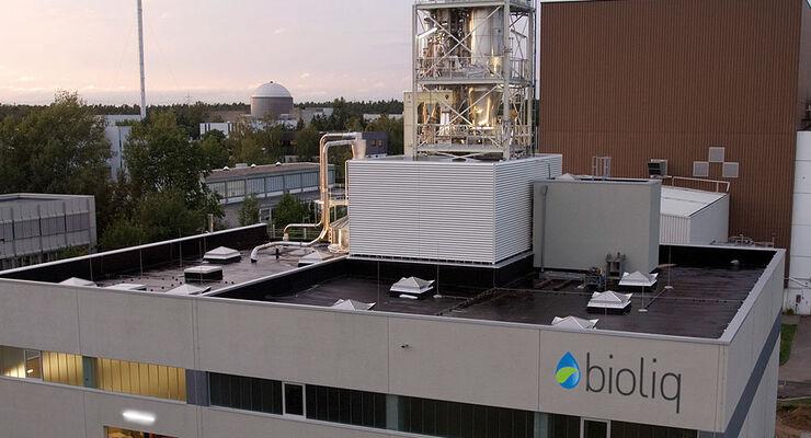 Bio-Rohöl-Fabrik