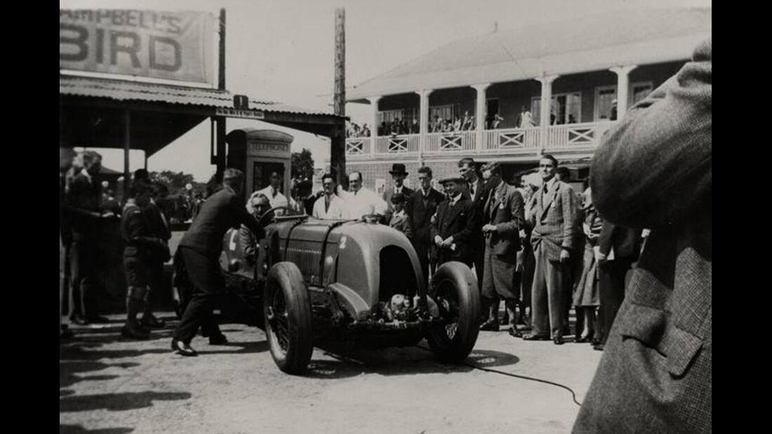 Birkin-Bentley Single-Seater, Premierenfahrt