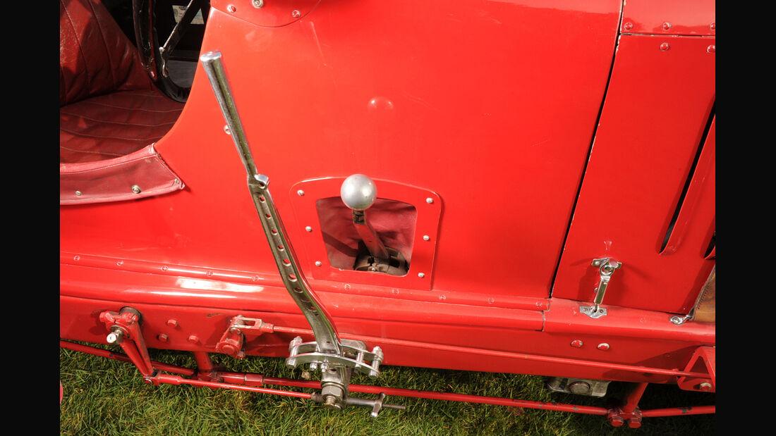 Birkin-Bentley Single-Seater, Schalthebel